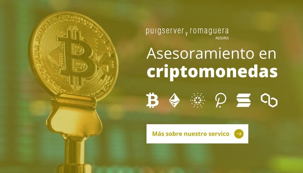 Asesoramiento criptomonedas - PYR Asesores Mallorca